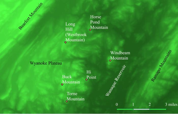Wyanoke Plateau Map