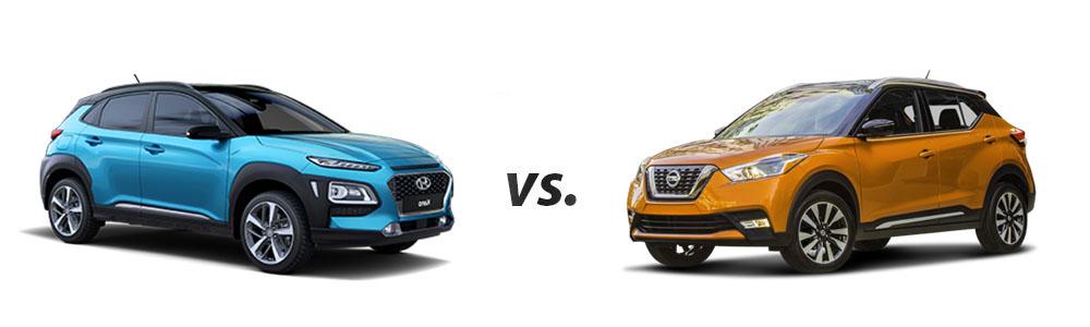 Nissan Rogue 2018 >> 2018 Hyundai Kona vs. 2018 Nissan Kicks