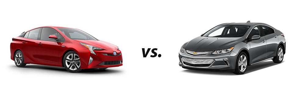 2018 Toyota Prius Vs 2018 Chevy Volt Hybrid Car Comparison