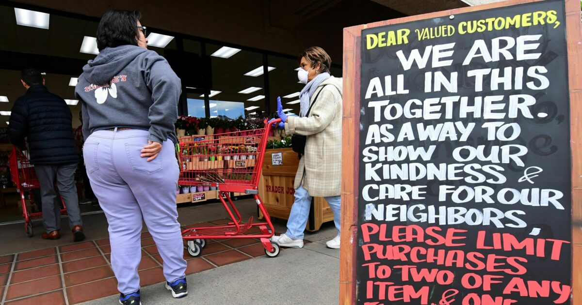 "Fatalistic Grocery Workers Demand Hazard Pay, Saying ""Infection Is Inevitable"""