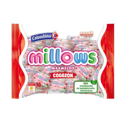 Masmelos Millows Corazon X 50 Unidades