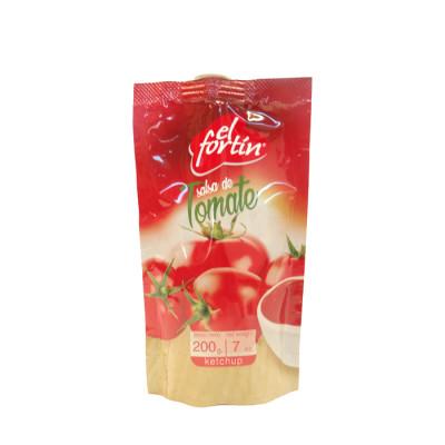 Salsa De Tomate El Fortin Flexi X 200 Grs