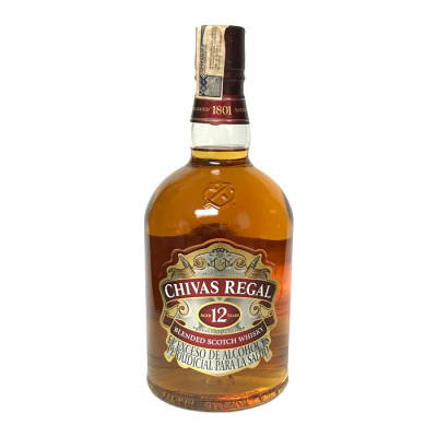 Whisky Chivas Regal 12years X 1000 Ml