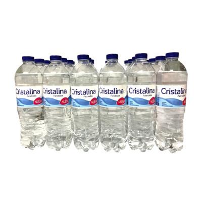 Agua Cristalina 600 Ml  X 24 Unds