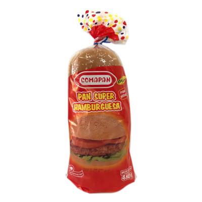 Pan Super Hamburguesa  480 Grs X 6 Unds
