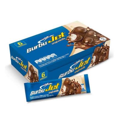 Chocolatina Burbu Jet Cruji Vainilla X 6 Unds