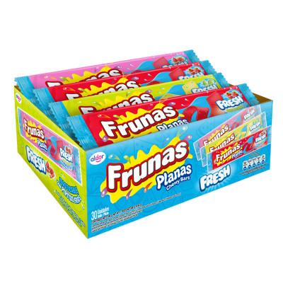 Caramelo Blando Frunas Plana Fresh X 30 Unds