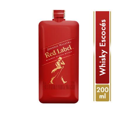 Whisky Johnnie Walker Red Label X 200 Ml