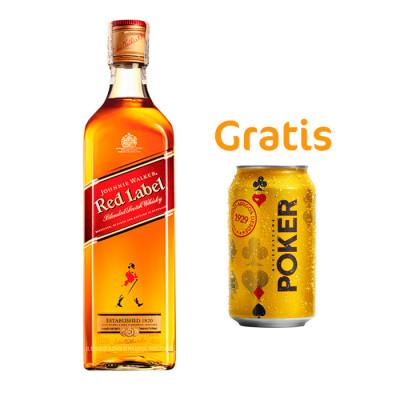 Whisky Johnnie Walker Red Label X 1000 Ml