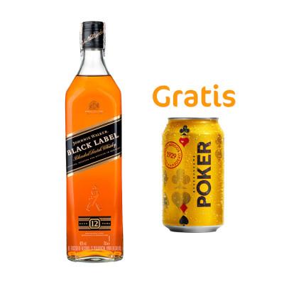 Whisky Johnnie Walker Black Label X 700 Ml