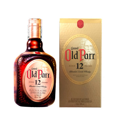 Whisky Old Parr 12 Años X 750 Ml
