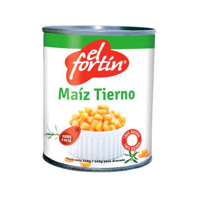 Maiz Tierno El Fortin 248 Grs