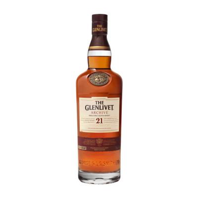Whisky Glenlivet 21 Years X 700 Ml