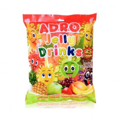 Gelatina Jelly Drinks Frutas X 25 Unds