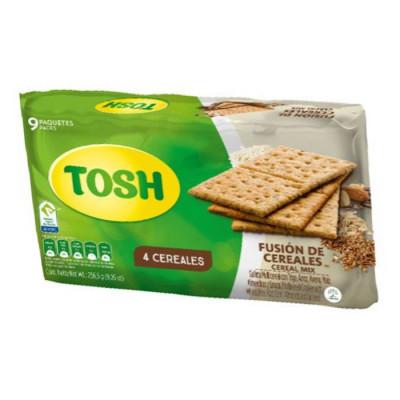 Galletas Tosh Fusion Y Cereales X 9 Unids