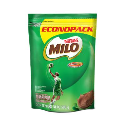 Chocolate En Polvo Milo Doypack X 500 Grs