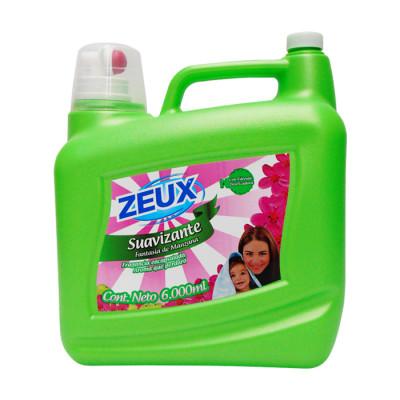 Suavizante Zeux Manzana Verde 6000 Ml Valvula