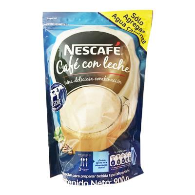 Café Con Leche Nescafé Bolsa X 900 Grs
