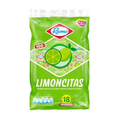 Galletas Ramo Limoncitas X 18 Unds