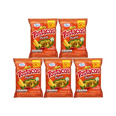 Pasabocas Tostacos Picantes 10 Unds X 38 Grs