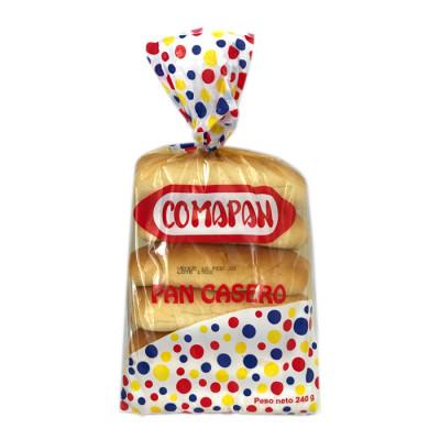 Pan Casero Comapan X 240 Grs