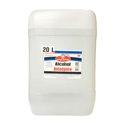 Alcohol Antiséptico 70% Mosela Bidón X 20 Litros