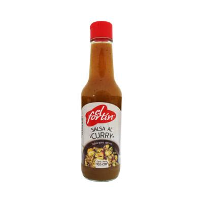 Salsa Al Curry El Fortin X 165 Grs Frasco