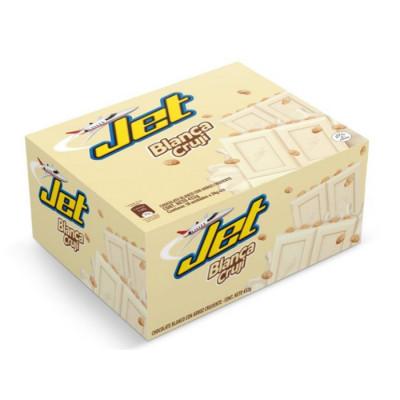 Chocolatina Jet Blanca Cruji X 18 Unds