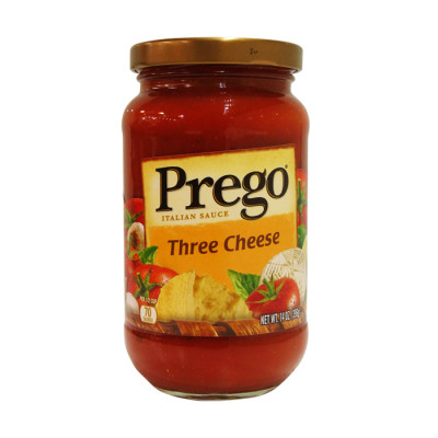 Salsa Prego Roja Tres Quesos X 396 Grs