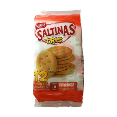 Galletas Saltinas Tris X 12 Unds