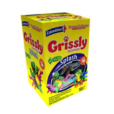 Grissly Splash Tarro X 100 Unds