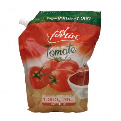 Salsa Tomate El Fortin X 1000 Grs