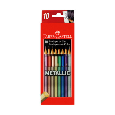 Color Faber Castell  Metalico X 10 Unds