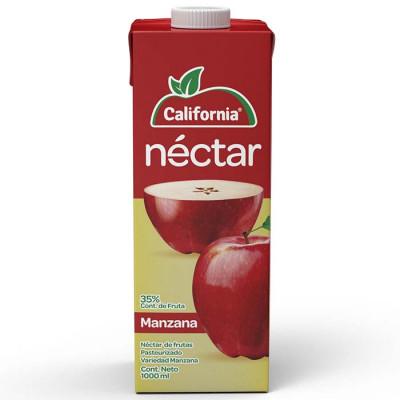 Néctar California Manzana Tetrabrik X 1000 Ml