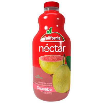 Néctar California Guayaba Botella X 900 Ml