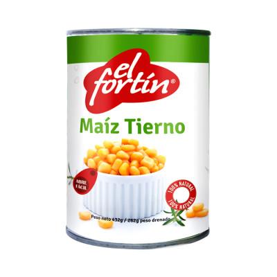 Maiz Tierno El Fortin 432 Grs