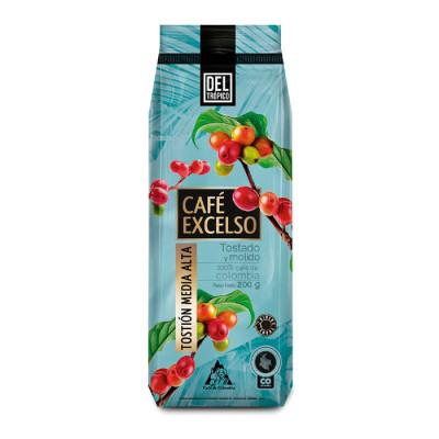 Café Del Tropico Tost-mol Excelso X 200 Grs