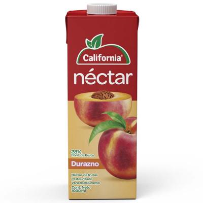 Néctar California Durazno Tetrabrik X 1000 Ml