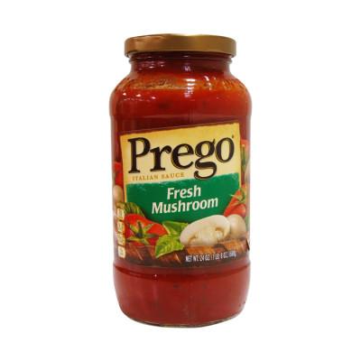 Salsa Prego Roja Champiñones 680 Grs