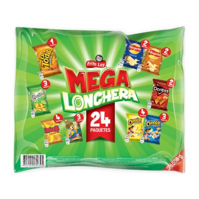 Lonchera Mega Frito Lay 24 Und
