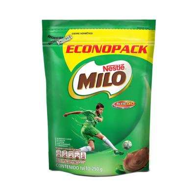 Chocolate En Polvo Milo Doypack X 250 Grs