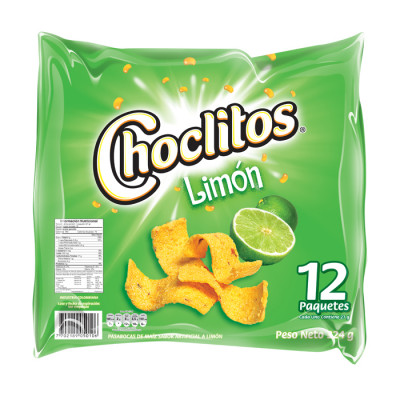 Choclitos De Limon X 12 Unidades