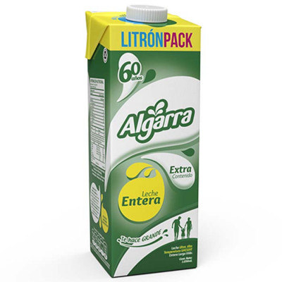 Leche Entera Algarra  X 1050 Ml Tetra