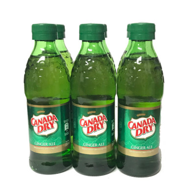 Gaseosa Canada Dry Ginger 300 Ml X 6 Unds