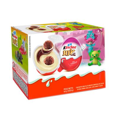 Huevo Kinder Joy X 2 Unidades