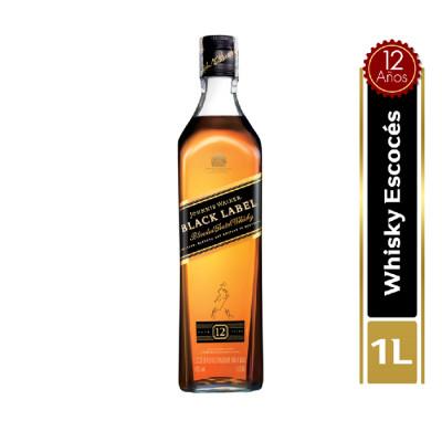 Whisky Johnnie Walker Black Label X 1000 Ml