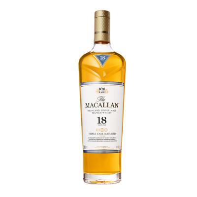 Whisky Macallan Triple Cask Matured 18 Yo X 700 Ml