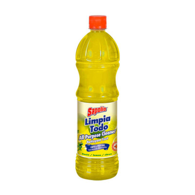 Limpia Todo Sapolio Limon X 900 Ml