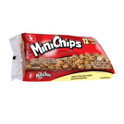Galletas Minichips X 12 Unds