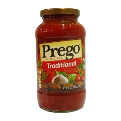 Salsa Prego Roja Tradicional 680 Grs